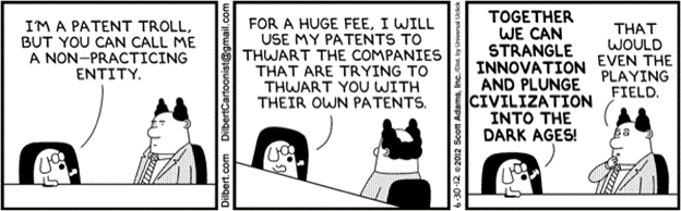 Mode of Operation of Patent Assertion Entities